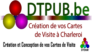 Creation Carte Visite Sur Charleroi